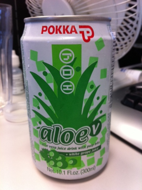 pokka aloe vera juice drink photo